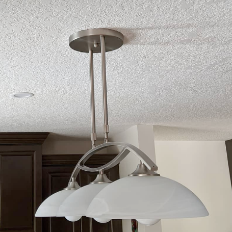 Ceiling Light instaled in Saskatoon